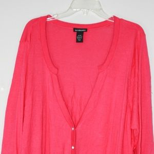 Lane Bryant Sweaters - Fuschia lane Bryant cardigan